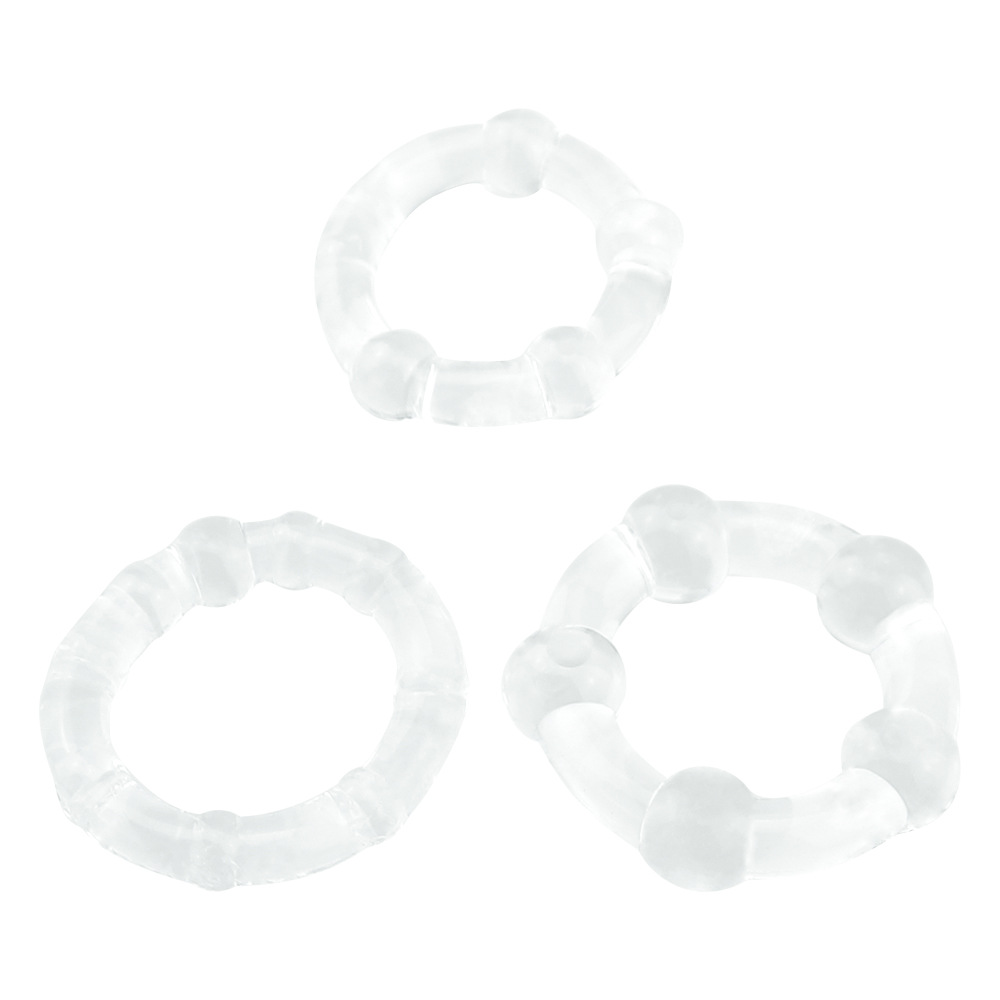 Penis Rings Silicone Reusable Condoms Male Delayed Ejaculation Stimulate Penis Enlargement Cock Ring Time Delay Sex Toy for Men in Condoms from Beauty Health