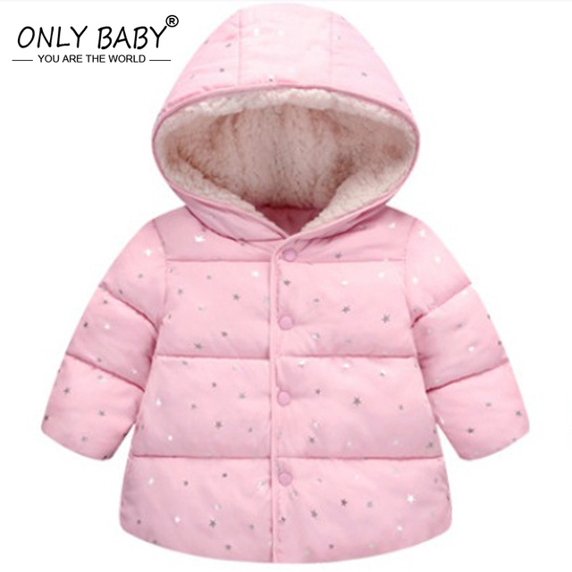 77b267059 Winter Wear Baby Girls Jacket Coat Kids Warm Outerwear Children ...