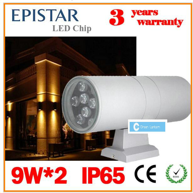 Led Wall Light Ip65: LED Wall Light Outdoor Lighting Exterior Wall Sconce Porch