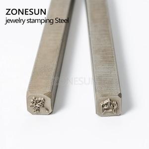 Image 2 - ZONESUN  Custom link for Steel Stamp Metal Punch Die by Ali standard shipping to Spain