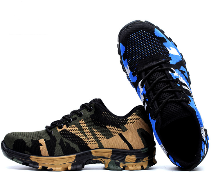 35-46 unisex sneakers acampar al aire libre trekking Caza Zapatillas de senderismo Pesca antideslizante anti-Smashing tácticas protección Zapatos