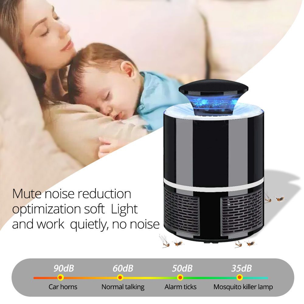 USB Electric LED Mosquito Killer Lamp In India