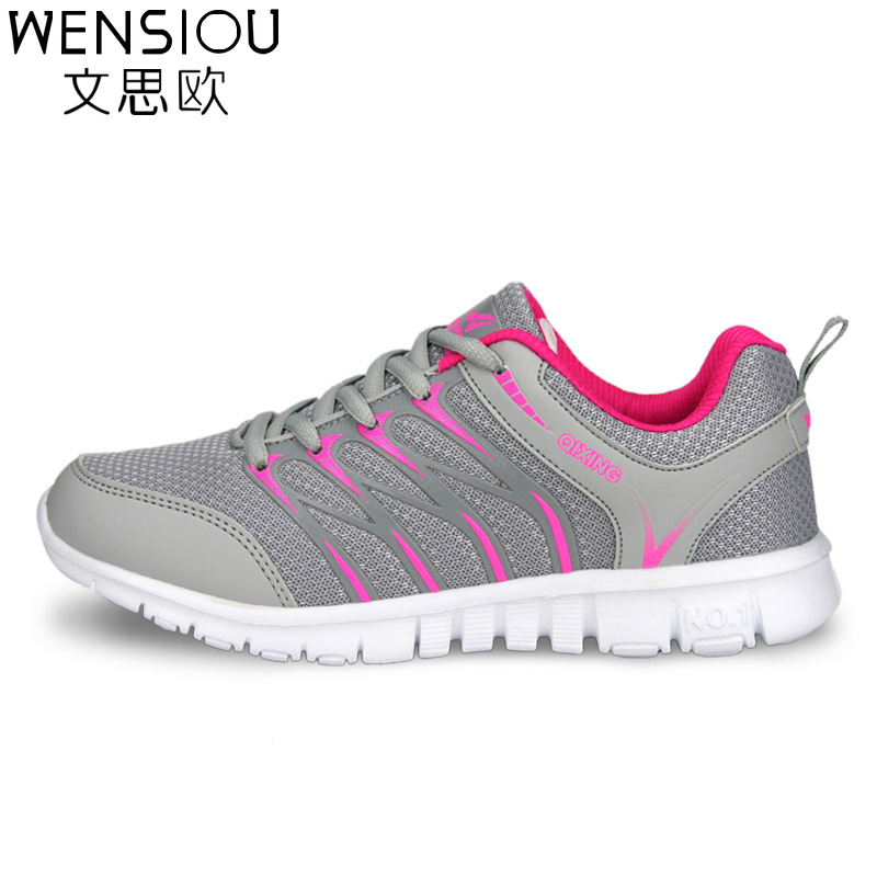 Fashion Women casual shoes plus size lace-up breathable air mesh flats Shoe comfortable Casual basic Shoe for women 2017 7-dt926 high quality men casual shoes fashion lace up air mesh shoe men s 2017 autumn design breathable lightweight walking shoes e62