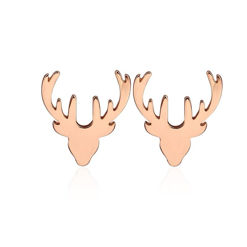 rose gold earings