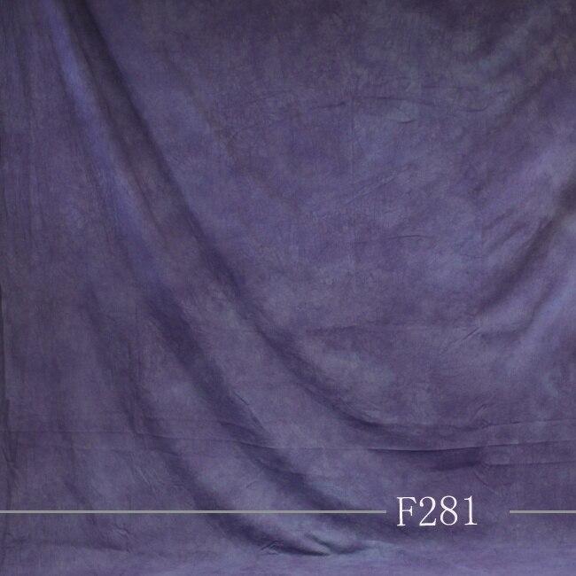 2019 Cravate Teints Mousseline De Mariage Fond décors pour la photographie studio Peint À La Main famille portrait photographique toile de fond F281
