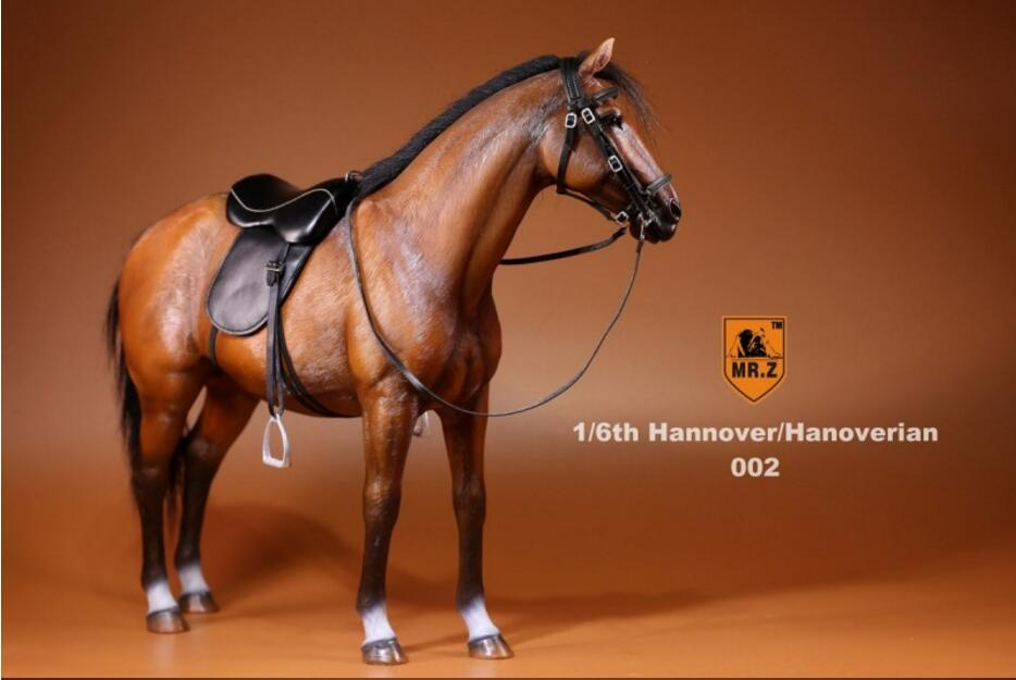Mr.Z 1//6 The Simulation Animal Series Hannover Model Horse 002