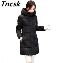 Women Winter Jacket 2017 New Cotton-padded Coat Cotton Parka Outerwear Medium-long Clothing Plus Size M-6XL Outerwear