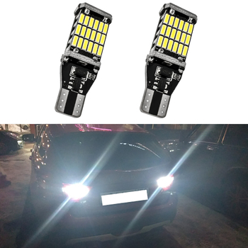 2x Canbus T15 W16W LED Bulb Car Backup Reverse Lights For BMW E90 E60 Toyota Corolla Camry Prado White Error Free Tail Lamp 12V image