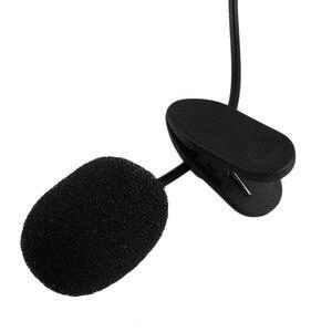 2018 Новейший портативный наружный микрофон 3.5mm на клипсе (свободные руки) Lapel Lavalier для ПК ноутбука