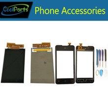 Дешевые 1 шт./лот Высокое качество 4.0 дюйма для Micromax bolt d303 ЖК-дисплей Экран Дисплей и Сенсорный экран планшета запасная часть с Инструменты