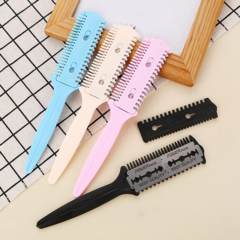 Personal Care Appliance Parts Sunny New-barber Hair Razor Comb Scissor Tools Bangs Brush Hairdressing Trimmers Hair Shaving Blades Cutting Thinning Beauty Styling Home Appliances