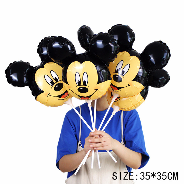 114cm wszelkiego rodzaju Mickey Minnie balony urodziny wesele dekoracje nadmuchiwane balony powietrza dzieci klasyczne zabawki Globos tanie i dobre opinie 1 szt Ślub przyjęcie urodzinowe Impreza ślub zaręczyny dzień dziecka Walentynki Kreskówka Amnimal Piłkę BALLIUM