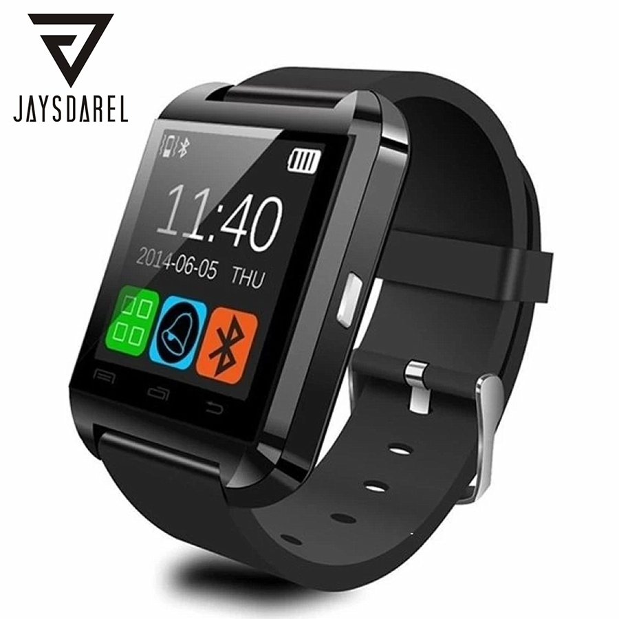 U8 Bluetooth Smart Watch For Android iOS Sync Phone Call Pedometer Anti-Lost Sport U Watch Smartwatch PK GT08 DZ09 GV18 jaysdarel m26 bluetooth smart watch for android ios sync phone call pedometer anti lost wrist smartwatch pk gt08 dz09 gv18 u8