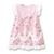 Bebé Vestido de Las Muchachas, Vestidos de Verano de Algodón Fino, Marca de Moda Niños de Encaje de Flores, Ropa de Los Niños (18moth-3 años)