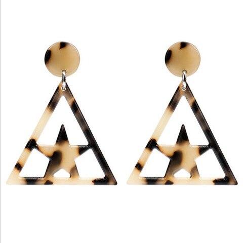 Купить геометрические акриловые смолы легкие звезды треугольной формы