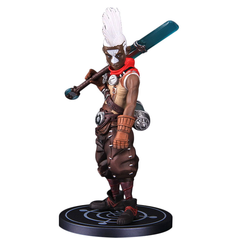 League of Legends LOL Time Ekko Figure Doll Home Model Toy Collections