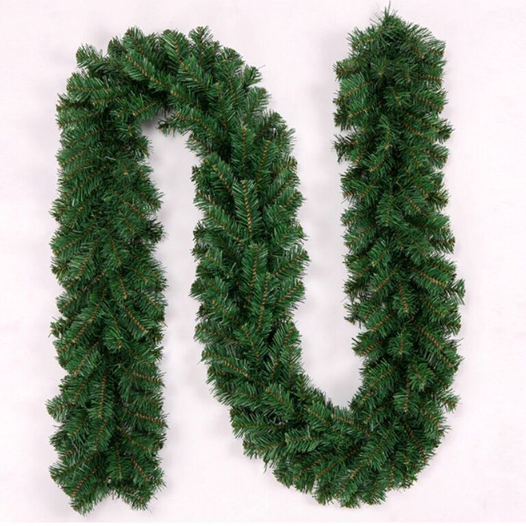 27m christmas garland green decoration christmas rattan ornaments christmas decorations for home christmas ornaments in pendant drop ornaments from home