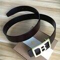 Cinturones de diseñador Hombres de Alta Calidad de Los Hombres de Cuero Genuino B Cinturón de Hebilla de Cinturón Ceinture Homme Cinturones Hombre Correa Masculina MBT0407