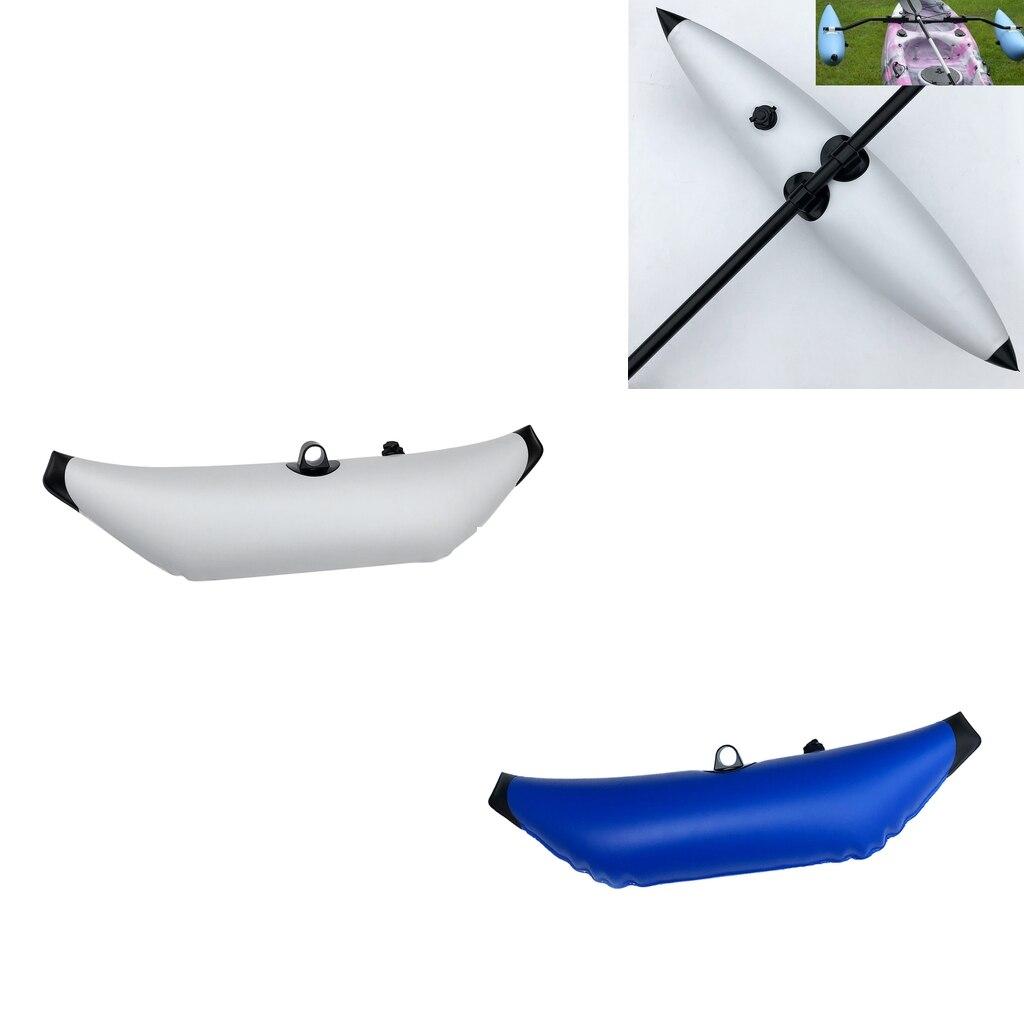 Flutuador de Água para Caiaque Boia de pé Produto para Estabilizar Caiaque Estabilizador Pesca Pvc 2 Cores Bom um