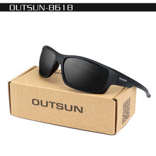 OUTSUN Polarized Sunglasses Men Women 2017 Brand Designer male ladies polariod Sun Glasses Camouflage case