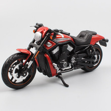 цены 1:18 Scale Maisto 2012 VRSCDX Night Rod Special Cruiser Dark Custom Diecast tour twin Racing model Softail bike motorcycle toys