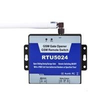 Good Sale RTU5024 GSM Gate Opener Relay Switch Remote Access Control Wireless Door Open Home Good Helper RTU 5024