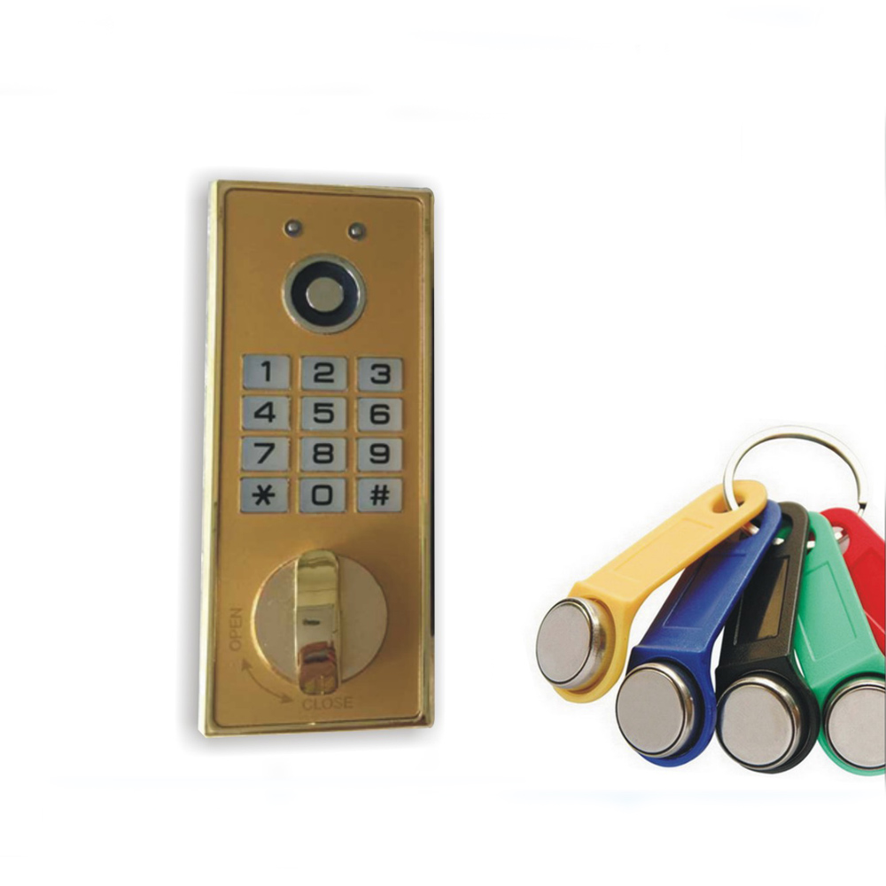 Metal TM card cabinet locks Digital Electronic Password keypad number Cabinet Code locks