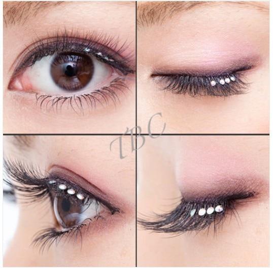 12trays Eyelash Extension Flare Diamond Cluster Eyelshes Glitter ...