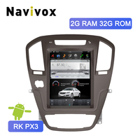Navivox 10.4 Vertical Screen Opel Insignia Android 7.1 Car GPS Multimedia Video Radio Player For Buick Regal 2009 2013 NO DVD
