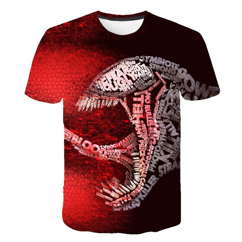Новейшая футболка Веном с 3D принтом, футболка s для мужчин и женщин, Повседневная футболка с коротким рукавом для фитнеса, футболка Дэдпул, футболки с черепом, топы азиатского размера - Цвет: 1568