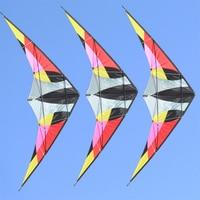 free shipping 2.2m albatross dual line stunt kite flying toys for adults nylon ripstop fabric birds kites reel eagle kitesurf