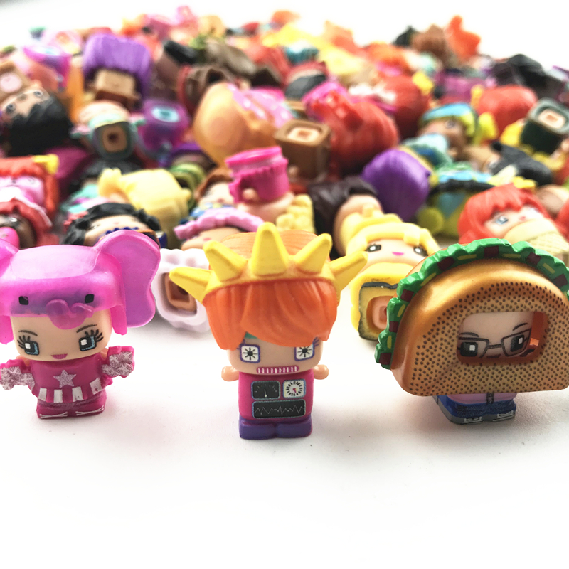MMMQs My Mini Mixie 30Pcs/lot Qs Anime Dolls Mixieqs Assembling Girl Model Capsule Toys Action Figures Mixieqs Gift