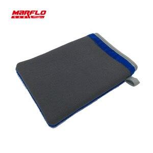 Car Wash Magic Clay Bar Mitt Car Clay Cloth Auto Care Cleaning Towel Microfiber Sponge Pad Clay Cloth Detailing Brilliatech(China)