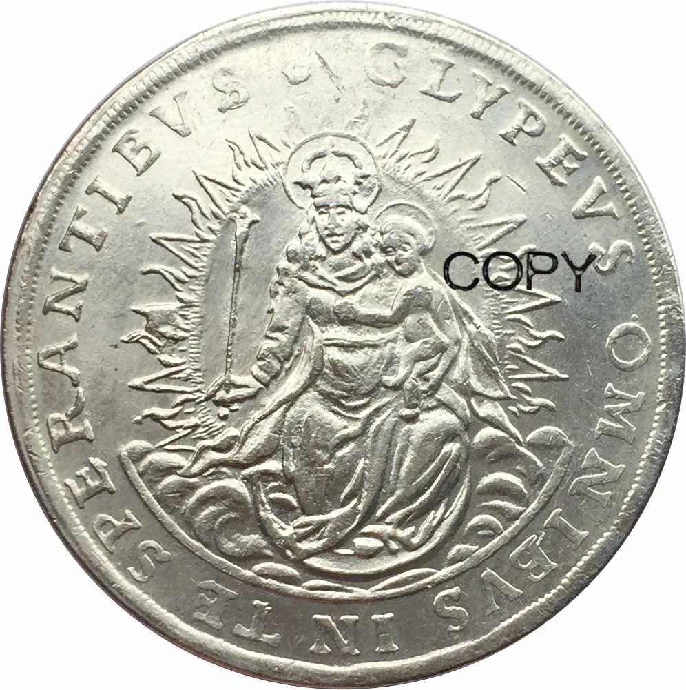 גרמניה 2 טלר ציבור הבוחרים של בוואריה 1626 Cupronickel מצופה כסף מטבעות עותק