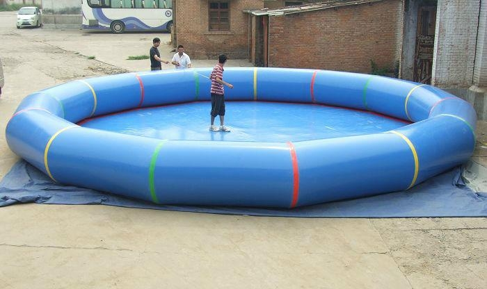 Free Shipping Diameter 5m Inflatable Pool ,Swimming Pool Round PVC Inflatable Pool