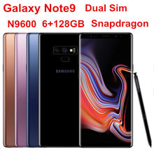 "Samsung Galaxy Note9 Note 9 Duos N9600 128GB ROM 6GB RAM Dual Sim Cell Phone Octa Core 6.4"" Dual 12MP Snapdragon 845 NFC(China)"