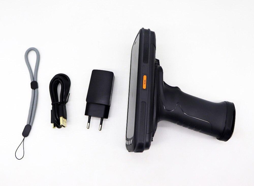 Barcode Scanner com RFID UHF leitor de Aperto de Pistola