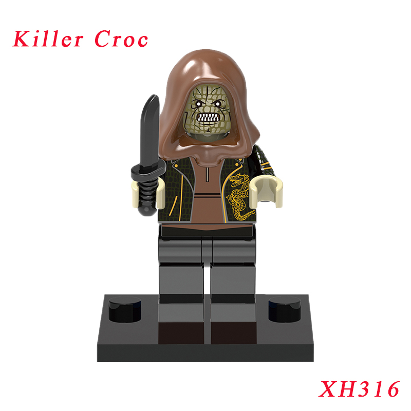 Killer Croc Figure Single Sale Building Blocks Suicide Squad Movie With Base Mini Diy Dolls Best Children Gift Toy