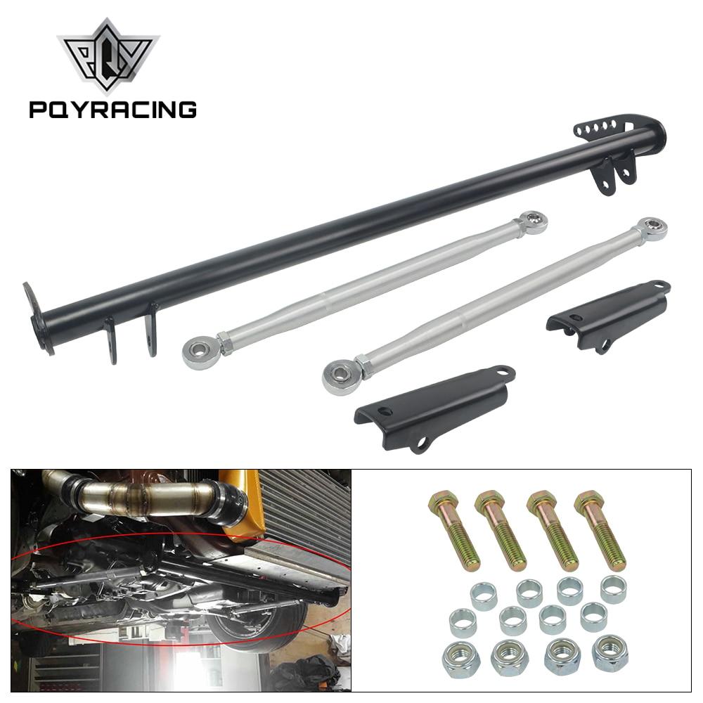 Pqy-Argento Controllo di Trazione Tie Bar per Honda Civic 92-95 per Acura per Integra 94-01 per Honda Del Sol 93-97 PQY-FTB01