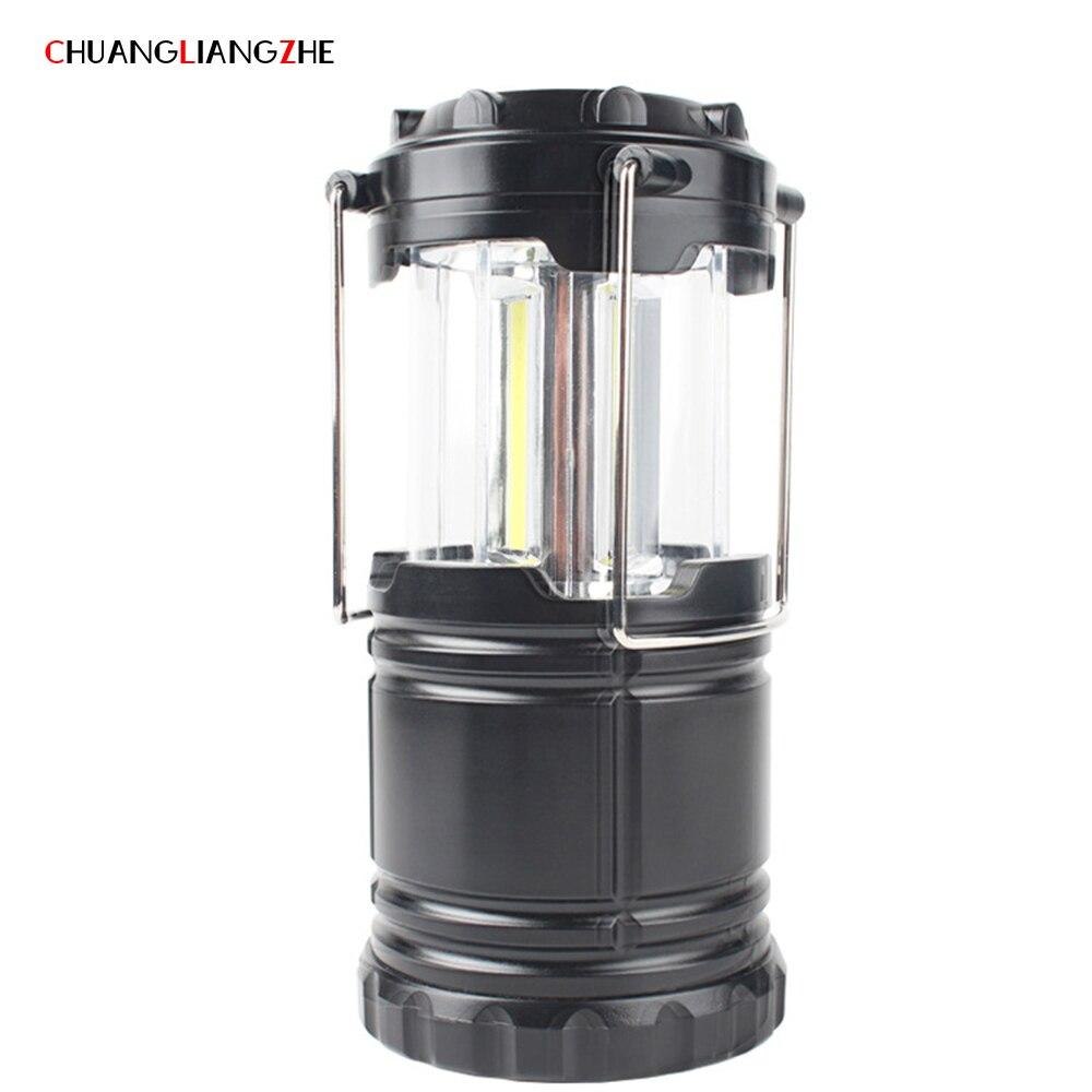 CHUANGLIANGZHE Multifunctional Camping Lantern Solar Charging Emergency Light Portable LED Portable Lighting Flashlight
