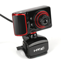 HD USB Webcam PC Camera 16M Pixels Multiple Colors And Effect For Video Built In Microphone