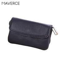 6 Color Korean style women Wallets Stylish hasp Women's Purse long Design zipper Ladies Wallet Genuine Leather Card Holder