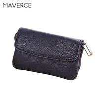 6 Color Korean style women Wallets Stylish hasp Women's Purse long Design zipper Ladies Wallet Genuine Leather Card Holder