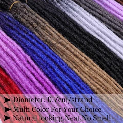 SAMBRAID Dreadlocks Hair Extensions Crochet Braids 24 Inch Crochet Hair Ombre Brading Hair Synthetic Hair Extension For Braids Multan