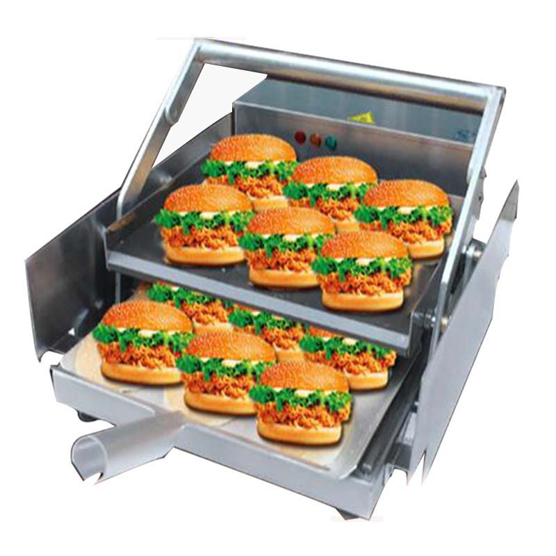цена на Commercial hamburger maker commercial electric hamburger machine BHB-6 1PCS