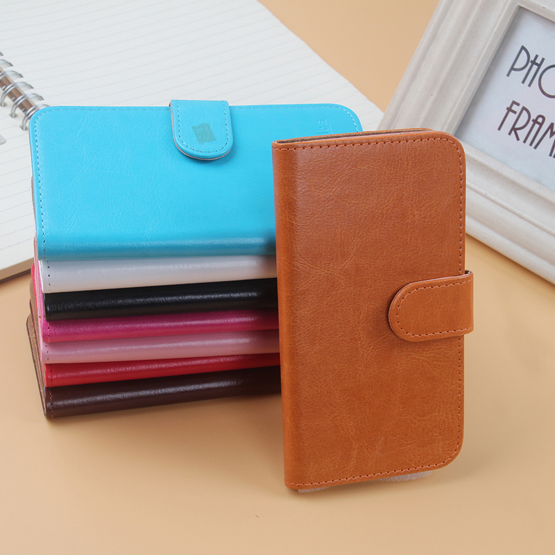 AiLiShi Hot Sale Leather Case For Dexp Ixion ES150 Fit Case Book Style PU Flip 8-Colors Wallet Protective Cover Skin In Stock