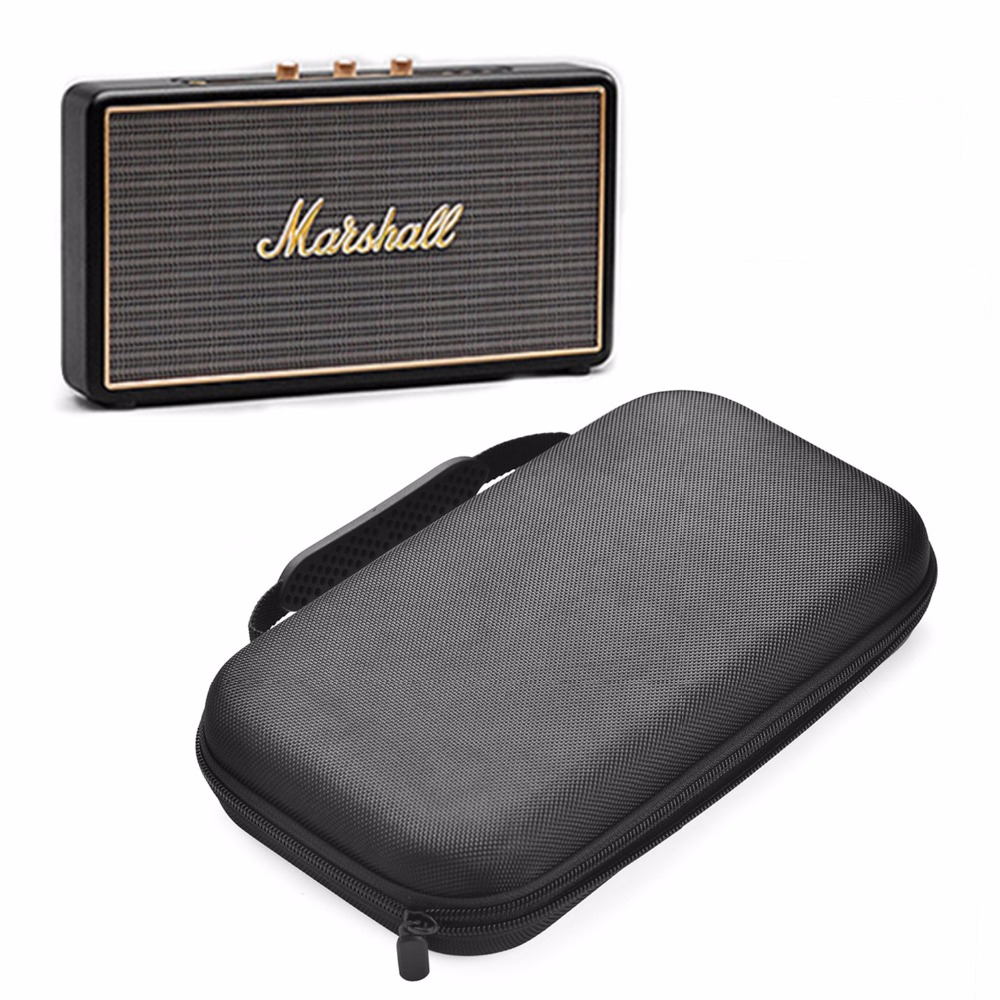 2019 New EVA Hard Case PU Travel Carrying Storage Bag Cover Case For Marshall Stockwell Portable Wireless Bluetooth Speaker