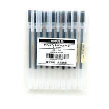 3Pcs/Set MUJI Style Japanese Gel Pen 0.5mm Black Ink Maker School Office Student Exam Writing Stationery Supply
