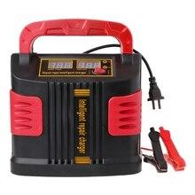 350W 14A Tự Động Plus Điều Chỉnh Màn Hình LCD Pin Sạc 12V 24V Jump Starter Di Động