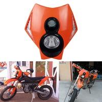 Universal Headlight Fairing Motorcycle Streetfighter Motorcross Headlight For CRF YZF WRF KXF KLX RMZ RMX DRZ EXC SX SXF XCW XC